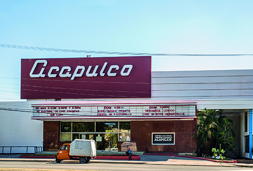 Cine Acapulco Vedado, Havana, Cuba