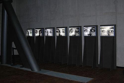 Die Augen der Attentäter, 2005 © Stefan Hunstein