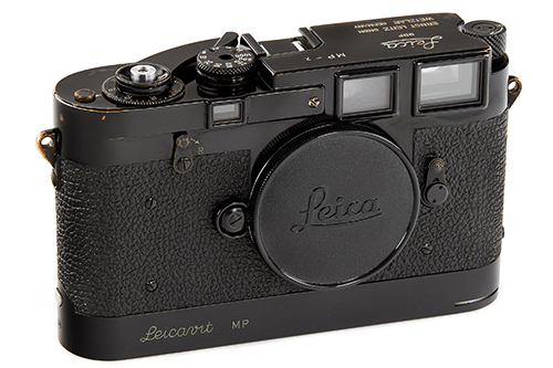Leica MP black paint