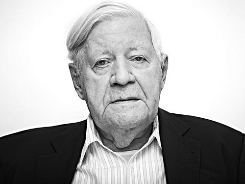 Helmut Schmidt, 2013 © Anatol Kotte
