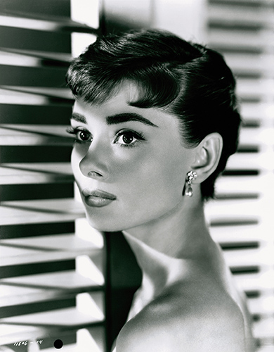 Icons 09 Audrey Hepburn by Bud Fraker for Sabrina Fair, 1954. Paramount Pictures ∏ John Kobal Foundation