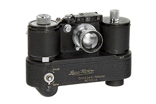 Leica 250 GG Reporter + Leica-Motor MOOEV