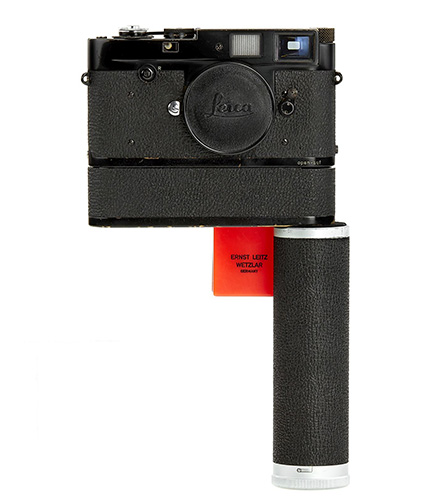 Leica MP2 black paint