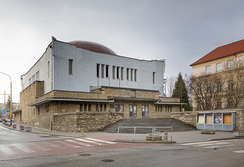 Slowakei_ Z?îilina-Sillein_Neue Synagoge_Peter Behrens_1929ÔÇô31