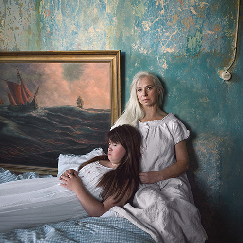 Snezhana von Buedingen - Sofie mit der Mutter