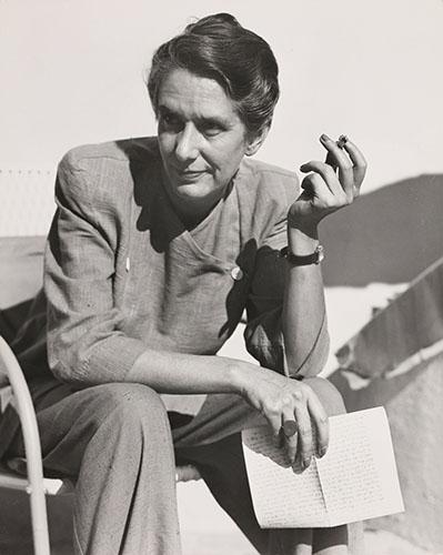 01_Erika Mann 1948_EM F 90_Photo Florence Homolka