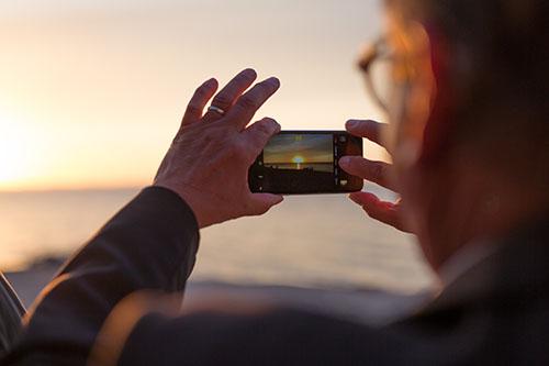 A FilmenSmartphone