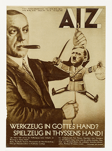 Abb. 06_John Heartfield_Werkzeug in Gottes Hand Spielzeug in Thyssens Hand