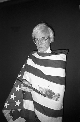 Andy Warhol American Flag (c) Christopher Makos