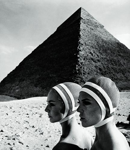 Gund FCGundlach_Badekappen_Ägypten1966