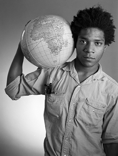 Jean Michel Basquiat May 29 1984 (c) Christopher Makos