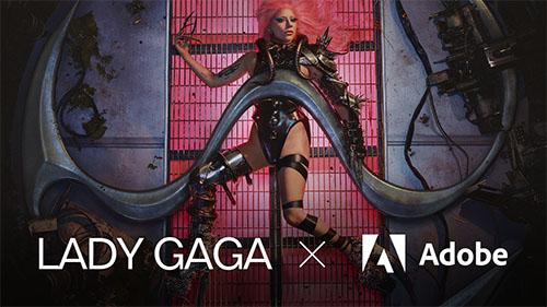 Lady Gaga x Adobe Image 2 Kopie