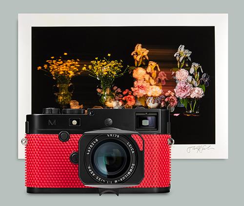 Leica Auction Collage_Leica M-P 'Grip' by Rolf Sachs