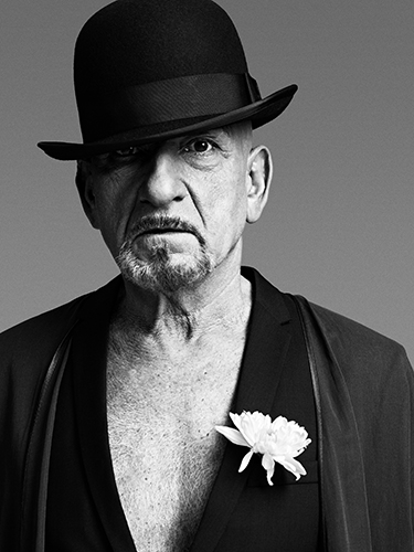 Leica Sir Ben Kingsley, London 2010 © Bryan Adams