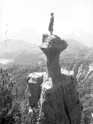 M beie-000137 Lattengebirge, Steinerne  Agnes, Josef Beierl