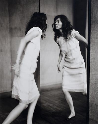 PAOLO_ROVERSI Audrey through the mirror, Paris, 1998