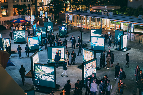 RB Red-Bull-Illume-Outdoor-Exhibition_Tokyo-Japan