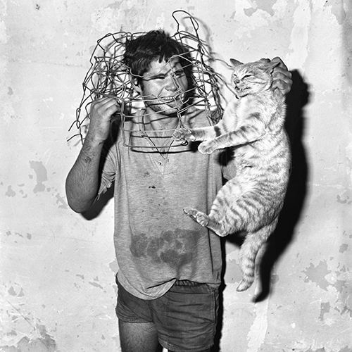Roger Ballen, Cat Catcher, 1998