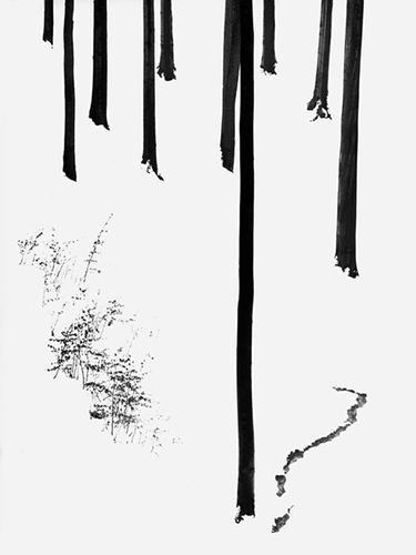 Volkmar Herre,Buchen.Winter, 1964