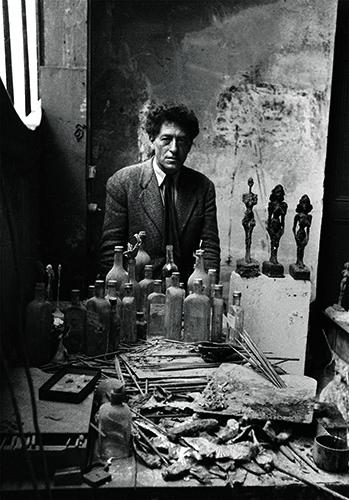 Weis Alberto Giacometti dans son atelier, Paris, 1954©Sabine Weiss