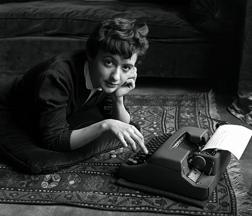 Weis Françoise Sagan, Paris, 1954©Sabine Weiss
