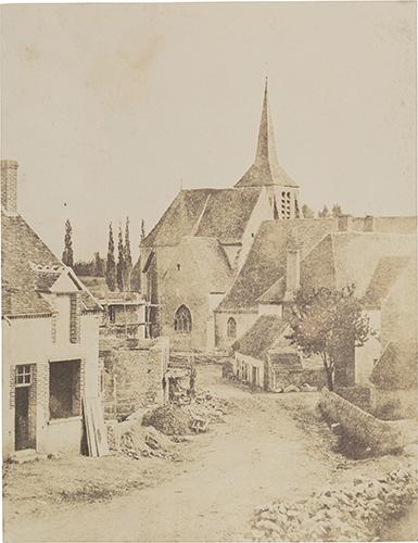 01_Louis Alphonse Poitevin_View of Montbouy sur Loing