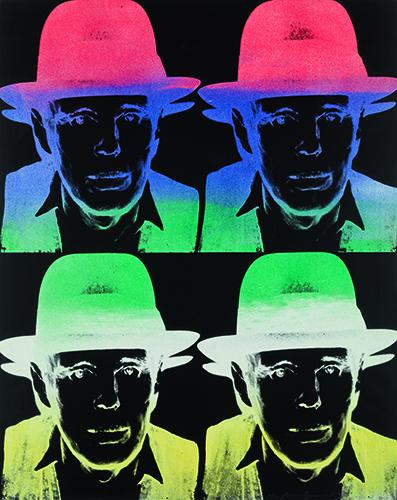 Highlihgt Andy Warhol_Beuys_State II, 1980_1981, © Galerie Schwarzer
