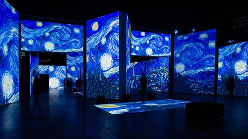 Van Gogh Alive – Lugano ©  Grande Exhibitions