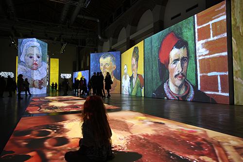 Van Gogh Alive – Mailand © Grande Exhibitions