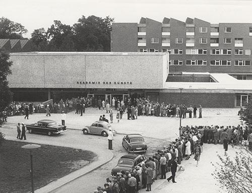 Berlin.Bau Akademie der Künste, Eröffnung am 18. Juni 1960