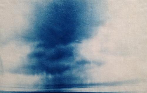 Blau WolkenlinieNet