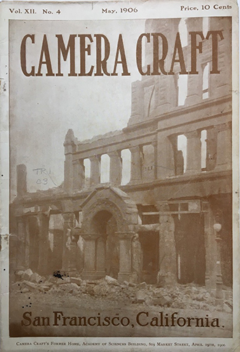 Deutsche Börse Camera Craft's Former Home [after the earthquake], Camera Craft, Vol. 12, No. 4, May 1906