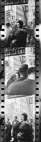 Evans Taf. 3 Drei 35-mm-Filmbilder, 1929