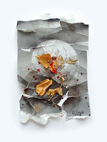 """Hirmer Abb. 03_Marielis Seyler_aus der Serie Fragmente """"Schnecke"""""""