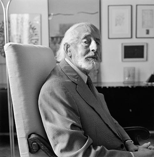 L. Fritz Gruber 1991 Foto Frank Krems