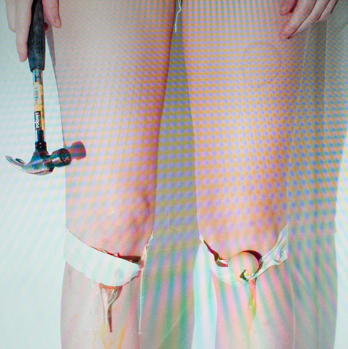 Angela Brandys, Eggy knees (Strobe), from the Series Impingement, 2017, Fuji duratran mounted in a lightbox, 77.2 x 77.2 cm, Ed. 3 + 1ME, courtesy PRISKA PASQUER, Cologne