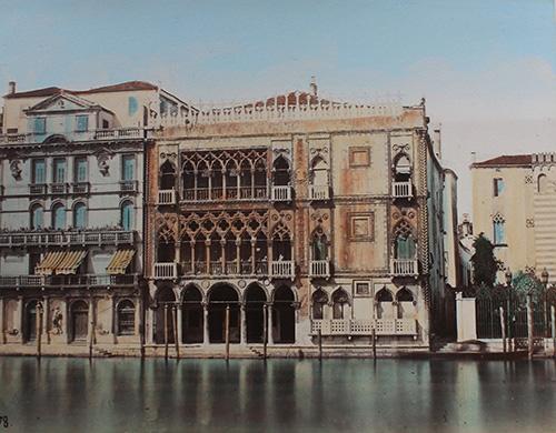 Naya Carlo_Venedig-Canal Grande mit Ca dOro_um1870_80 (1)