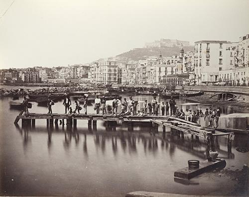 Sommer Giorgio_Neapel-Hafen_um1865 (1)