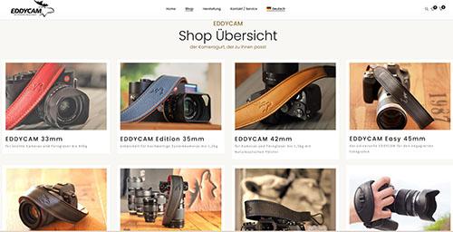 Eddy Shop Produktübersicht