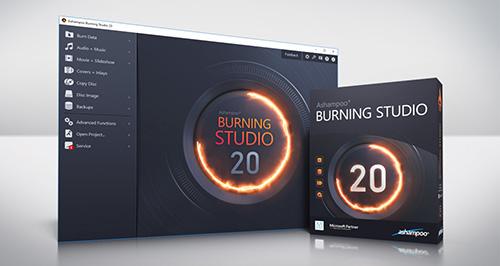best service 4a219 8a974 Das neue Jubiläums Burning Studio 20 von Ashampoo.