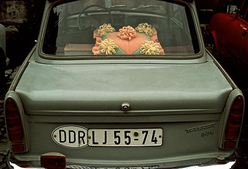 Blechspielzeug Trabbi Trabant NEU Originalgetreu 11 cm div Farben