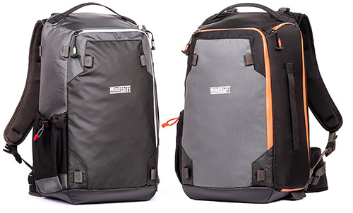 MindShift Gear PhotoCross 15 Rucksack Carbon Grey und Orange Ember