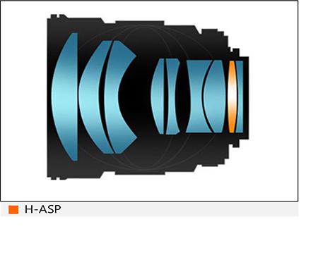 Samyang XP 85mm 1.4 RF 6 Konstruktion