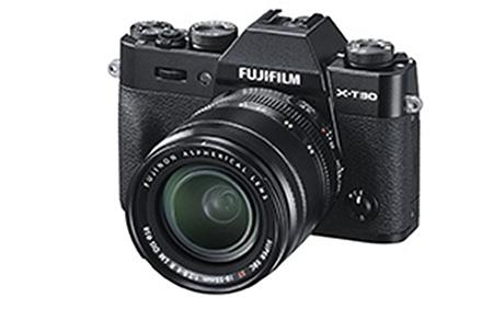 fujifilmX T30 schwarz