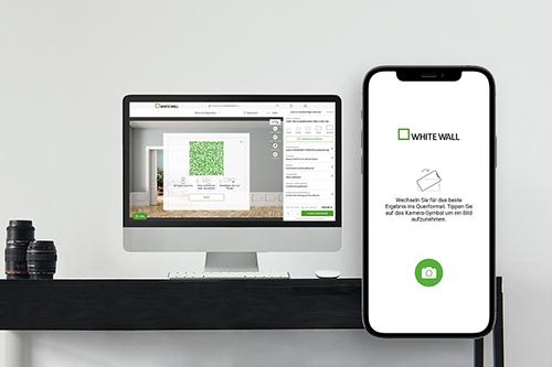 2 WhiteWall RoomView_  Smartphone mit Computer verbinden @WhiteWall